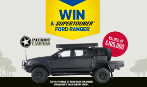 Lion-Beer, Spirits & Wine – Win a new Patriot Camper Supertourer Ford Ranger XLS in black