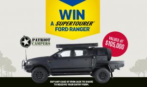 Lion-Beer, Spirits & Wine – Win a new Patriot Camper Supertourer Ford Ranger XLS in black