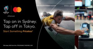 Mastercard – Win 1 of 2 trips for 2 to Rugby World Cup 2019 in Japan valued at over $20,000 each