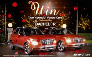 Network Ten – The Bachelor – Win 2 Cars (Hyundai Elite variant 1.6L 2019)