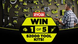 Network Ten – The Living Room – Win 1 of 5 Ryobi tool kits for Dads