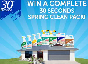 Tradeware – Win 1 of 3 spring cleaning prize packs