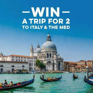 Trip A Deal – Win a 17-day trip for 2 to Italy and cruise through the Mediterranean