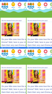 ABC Kids – Win Them Their Very Own Emma Prize Pack