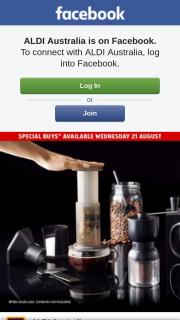 Aldi Australia – Win a Manual Coffee Grinder and an Aeropress Coffee Maker