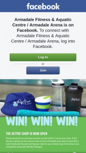 Armadale Fitness & Aquatic Centre – Win an Active Armadale Prize Pack Inclusive of a Beach Towel (prize valued at $82)
