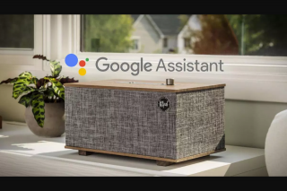 ARN – iHeart Radio – Win The Ultimate Gift for Father's Day – a Klipsch 'the Three' Voice Activated Wireless Stereo System With Google Assistant