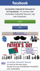 Australian Industrial Vacuum – Win a $100 Bunnings Giftcard on Us (prize valued at $100)