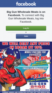 Big Gun Wholesale Meats Underwood – Win $100 Voucher (prize valued at $100)