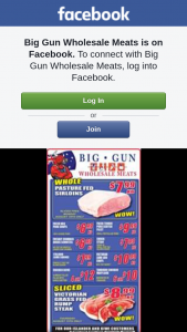 Big Gun Wholesale Meats – Win One of 2 $100 Vouchers (prize valued at $200)