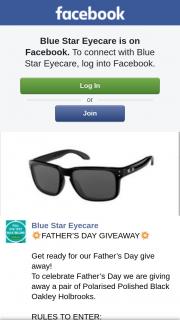 Blue Star Eyecare – Win Sunglasses