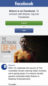 Bstore – Win | to Celebrate The Launch of The Australian Dream Starring Adam Goodes