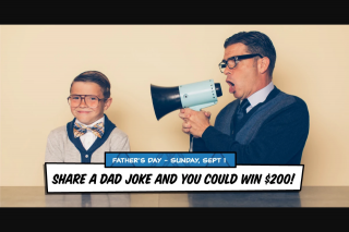 Camberwell Shopping Centre – Win $200 to Spend In Camberwell this Father's Day (prize valued at $200)