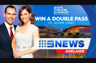 Channel 9 News – Can Choose The Date They Wish to Attend to See Jasper Jones at State Theatre Company (prize valued at $1,680)