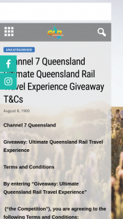 Channel 7 Qld Weekender – 2 X Family Adventures From Brisbane to Hervey Bay and Back Aboard The Queensland Rail Tilt Trainto Enter