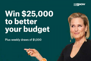 Channel 9 – Suncorp /The Block – Win this Week's Prize Draw of $1000. (prize valued at $10,000)