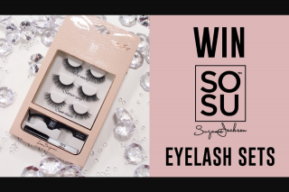 Channel 7 – Sunrise Family – Win One of Five Sosu By Sj Eyelash Sets In this Week's Sunrise Family Newsletter