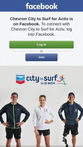 Chevron City to Surf for Activ – Five Merch Packs (prize valued at $550)