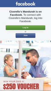 Cicerello's Mandurah – Win $250 to Spend at Cicerello's and Spoil Dad (prize valued at $250)