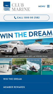 Club Marine – Win The Dream Competition (prize valued at $264,040)