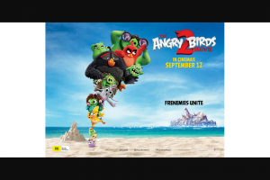 Community News – Win One of 15 Family In-Season Passes (valid for Four People) to See The Film