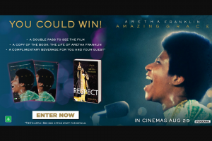 Dendy Cinemas – Win 1 of 5 Exclusive Prize Packs
