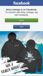 Dirty Lickings – One of Our New Kraken Hoodies to One Lucky Follower…