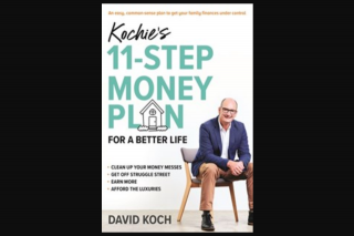 Dymocks Booklovers – Win a Household Budget Planning Session With David Koch Conducted Over Skype