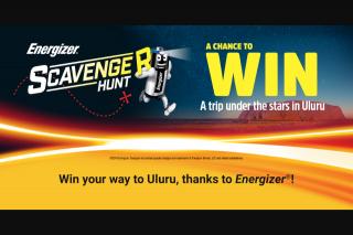 Energizer Scavenger Hunt – Win a Finalist Prize