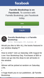Farrells Bookshop – All The Books Featured In Our Window Display?
