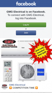 GMG Electrical – Win this Fantastic Prize (prize valued at $1,100)