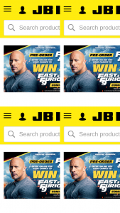 JB HiFi – Tickets to The Sydney Premiere of Fast & Furious 9 In 2020. (prize valued at $1,918)