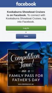 Kookaburra Showboat cruises – Win #competition #fathersday #lunch #cruise #family #showboatcruises