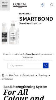 Loreal SmarTBond & Cerrone -Purchase a SmarTBond Treatment & – Win $25000 Worth of Prizes With L'oréal Professionnel's SmarTBond and Cerrone (prize valued at $25,000)