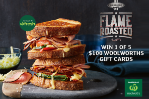 Mouths of Mums – Win a $100 Woolworths Gift Card (prize valued at $500)