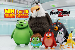 Mum Central – Win 1 of 15 Family Passes to See Angry Birds 2