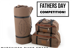 Murchison River Swags – Win a King Brown Swag Or a Set of Heavy Duty Canvas Travel Bags All Handmade By Us for Your Dad (prize valued at $600)