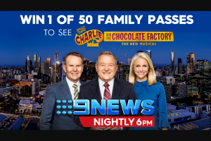 9 News – Win The Prize (prize valued at $20,000)
