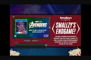 Nova FM We Are Looking for Marvel's Biggest Fan for Your Chance to – Win a $4000 Home Entertainment Upgrade (prize valued at $4,569)
