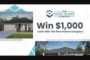 Nova 93.7 – Win $1000 Cash With The New Home Company (prize valued at $1,000)