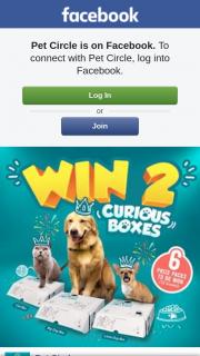 Pet Circle – Win 2 Curious Boxes