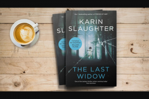 Plusrewards – Win a Copy of The Last Widow By Karin Slaughter