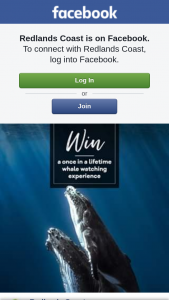 Redland City Council – Win a Once In a Lifetime Family Whale Watching Experience on Redlands Coast