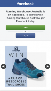 Running Warehouse Australia – Will Be Chosen at Random Using Woobox and Notified By The Relevant Social Media Channel Within a Week