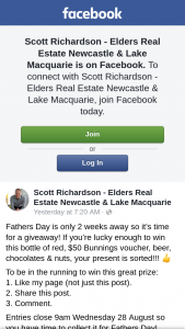 Scott Richardson – Win this Bottle of Red