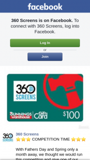 360 Screens – Win a Fantastic Prize