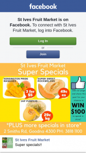 St Ives Fruit Market – Win Our Weekly $100 Spend In Store Prize