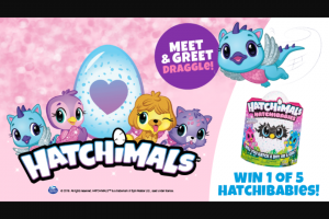 Sunnybank Hills Shoppingtown – Win a Hatchimal Hatchibabies