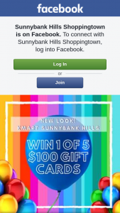 Sunnybank Hills Shoppingtown – Win 1 of 5 $100 Gift Cards