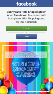 Sunnybank Hills Shoppingtown – Win 1 of 5 $100 Gift Cards